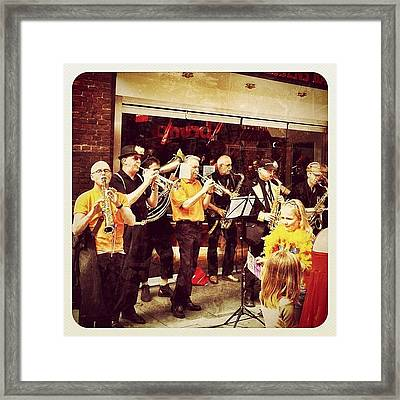 A Late #queensday Pic From Earlier This Framed Print