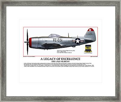 A Legacy Of Excellence Framed Print