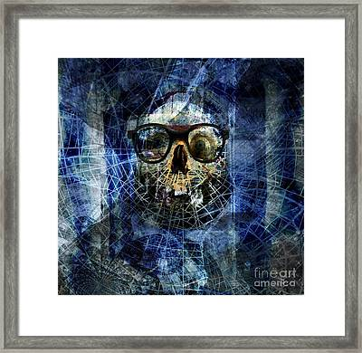 A Liar - The Father Of Confusion Framed Print by Fania Simon