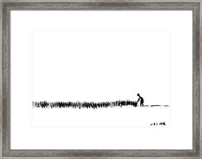 A Life... Framed Print by Jinhyeok Lee