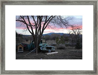 A Life's Story Framed Print