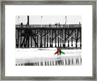 Framed Print featuring the photograph A Lifestyle by Raymond Earley
