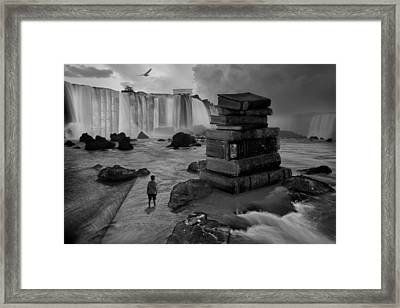 A Lifetime Of Learning Framed Print by Keith Kapple