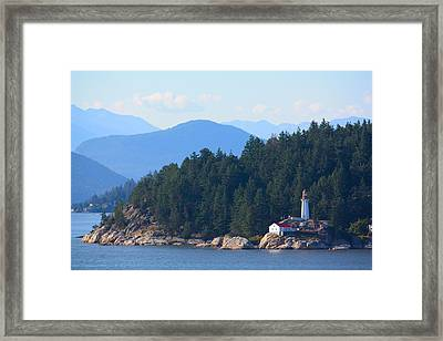 A Light In The Distance Framed Print by Richard Stillwell