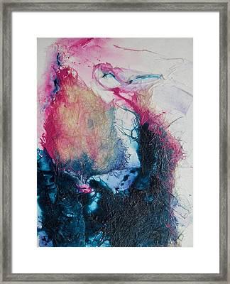 A Little Rose Framed Print