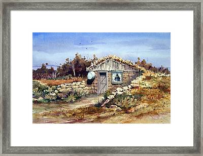 A Little South Of Wolf Creek Framed Print by Sam Sidders