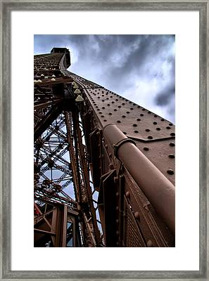 Framed Print featuring the photograph A Long Climb by Edward Myers