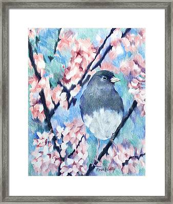 A Lovely View Framed Print by Rose Welty