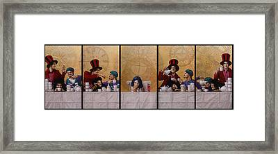 A Mad Tea-party From Alice In Wonderland Framed Print