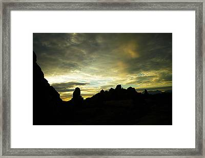 A Magic Moment Framed Print by Jeff Swan