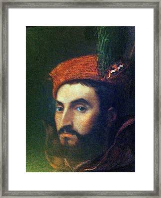A Man You Love Not To Trust Framed Print by Paul Washington