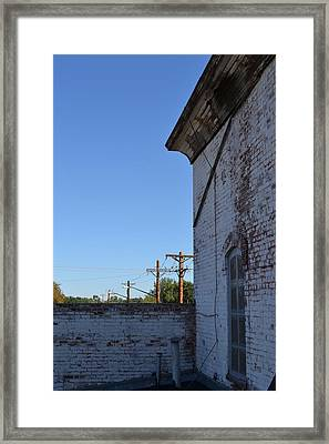 A Message In The Distance Framed Print by Tiffany Ball-Zerges