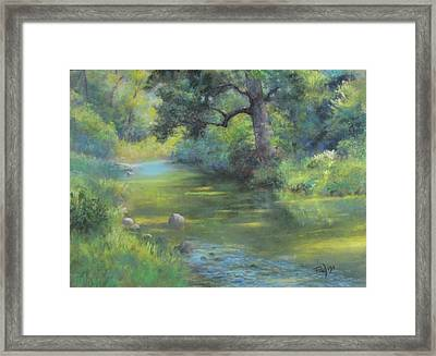 A Midsummer Day's Stream II  Framed Print