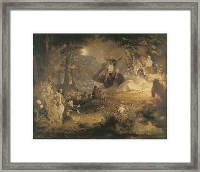 A Midsummer Night's Dream Framed Print by John Lamb Primus