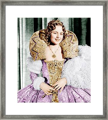 A Midsummer Nights Dream, Olivia De Framed Print by Everett