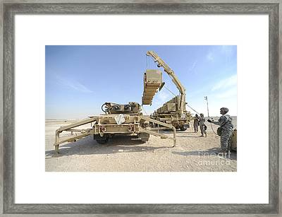 A Missile Reload Certification Framed Print