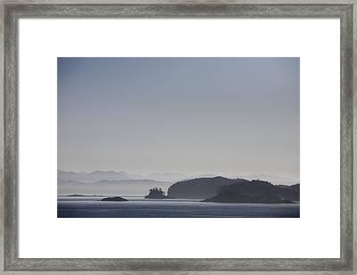 A Misty Afternoon On Haida Gwaii Framed Print by Taylor S. Kennedy