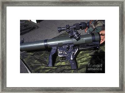 A Mk 153 Mod 0 83mm Assault Rocket Framed Print