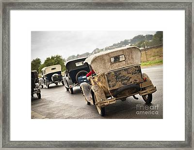 A Model Procession Framed Print by David Lade