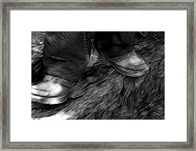 A Moment In Time Framed Print by Lisa Stanley