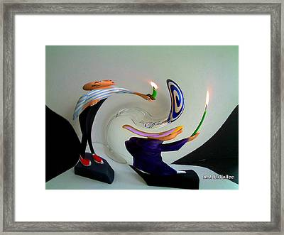 A Moment Of Confusion Framed Print