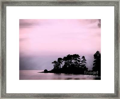 A Moment Of Tranquility Framed Print by Gail Bridger