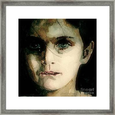 A Moments Thought For Those Who Have Not Framed Print by Paul Lovering