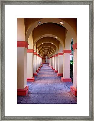 A Most Pleasant Passageway Framed Print