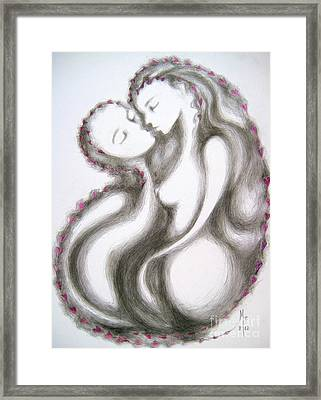 A Mother's Gratitude Framed Print by Marat Essex