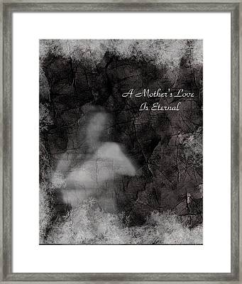 A Mother's Love Framed Print by Rhonda Barrett