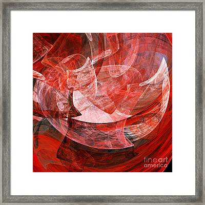 A Mothers Womb . Square . A120422.446 Framed Print