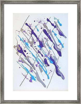 A Multiple X Framed Print by Helene Henderson