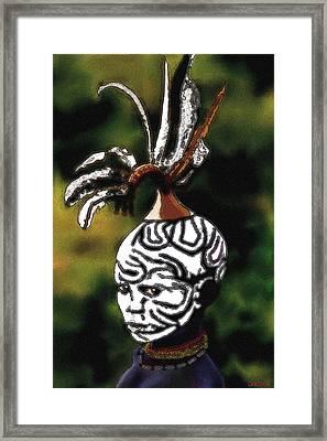 A Murzi Boy Framed Print