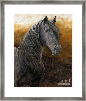 Framed Print featuring the painting A Natural Beauty by Sheri Gordon
