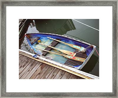 A Neat Boat Framed Print
