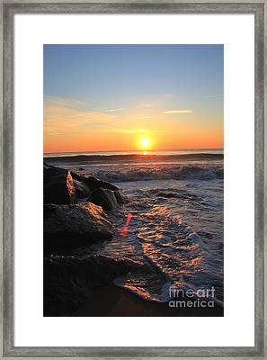A New Day Framed Print by Everett Houser