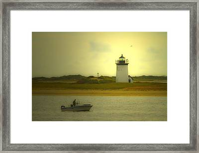 A New England Moment Framed Print by Karol Livote