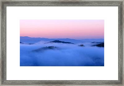 A New Meaning For 'ocean' Framed Print by Catherine Natalia  Roche