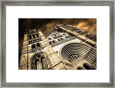 A Night At The Museum Framed Print by Jez C Self