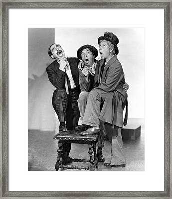 A Night At The Opera, Groucho Marx Framed Print