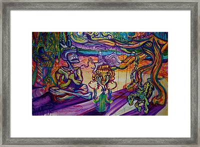 A Night With The Funk Framed Print