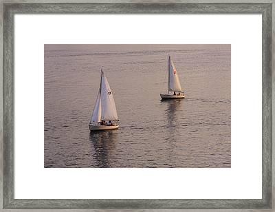 A Pair Framed Print by Rick Berk