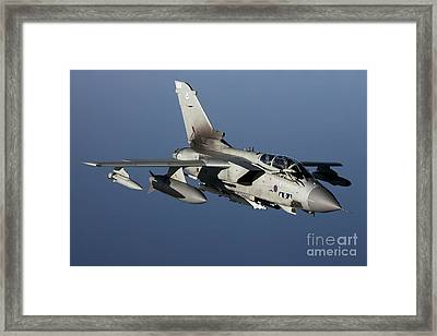 A Panavia Tornado Gr4 Of The Royal Air Framed Print by Gert Kromhout