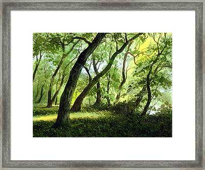 A Perfect Day Framed Print