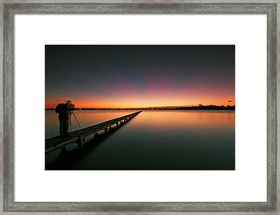 A Photographers' Dream Framed Print