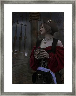 A Pirates Life For Me Framed Print by Lisa Wingo