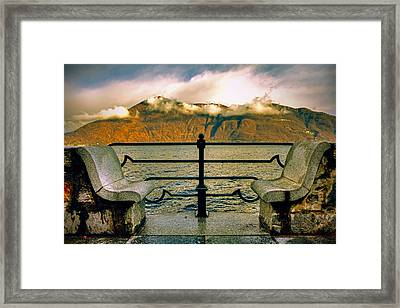 A Place For Two Framed Print by Joana Kruse