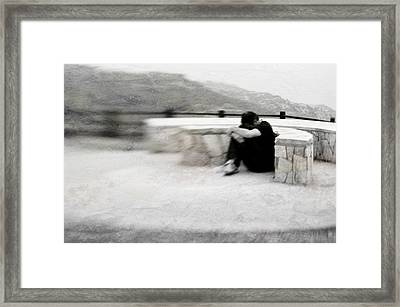 Framed Print featuring the photograph A Place To Be Alone by Kevin Bergen