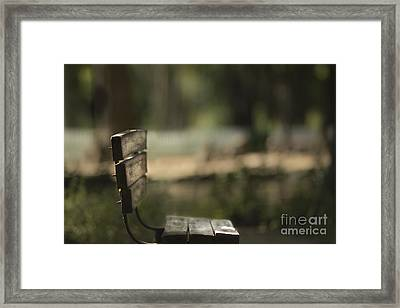 A Place To Be Framed Print by Kim Henderson