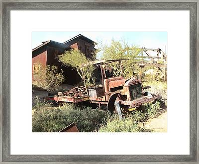 A Place To Rest Framed Print by Cristophers Dream Artistry